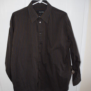 Men's Kenneth Cole UNLISTED Brown Shirt- Size L